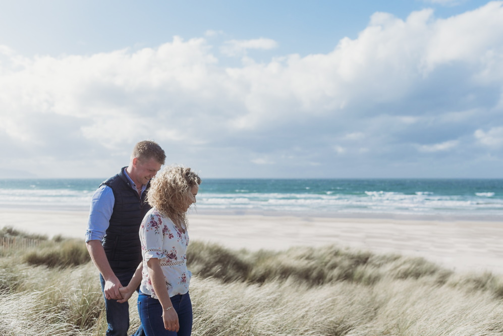 engagement photography, Portstewart, beach - love and light photography ni -