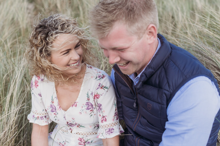 engagement photography, Portstewart, north coast, beach - love and light photography ni -
